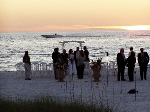 fort myers dj cape coral dj, naples dj, wedding on the beach photo