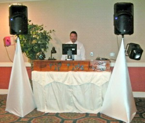 cape coral dj wedding table setup